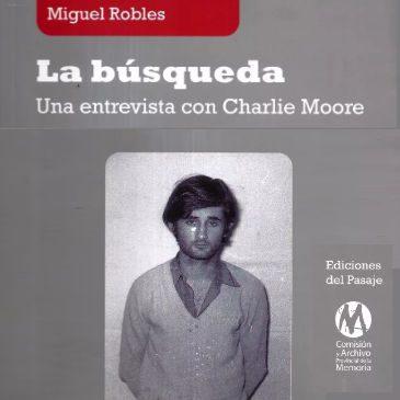 """Sobre """"Búsqueda"""" de Miguel Robles"""